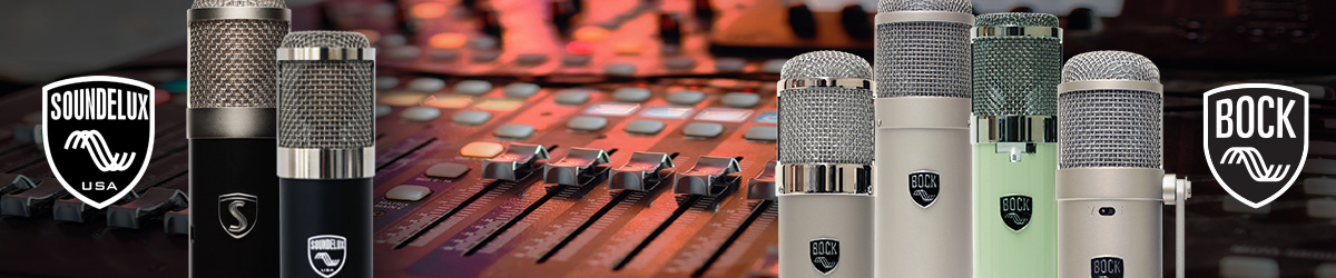 Bock Audio / Soundelux Sponsored Article Header