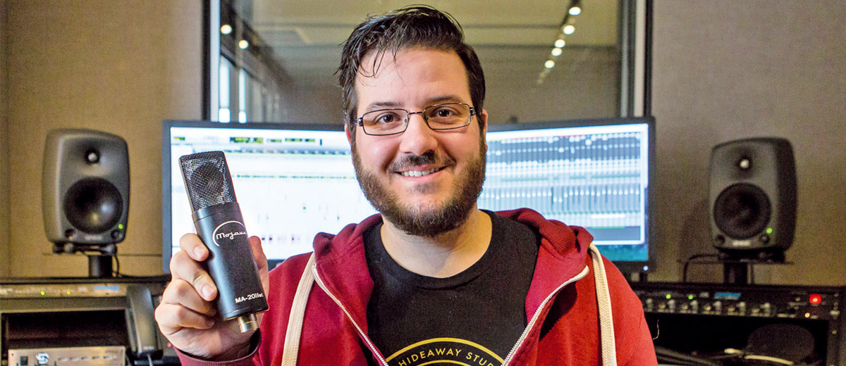 Mojave Audio Microphone Assumes Integral Role in the Production of Audible's Audiobooks