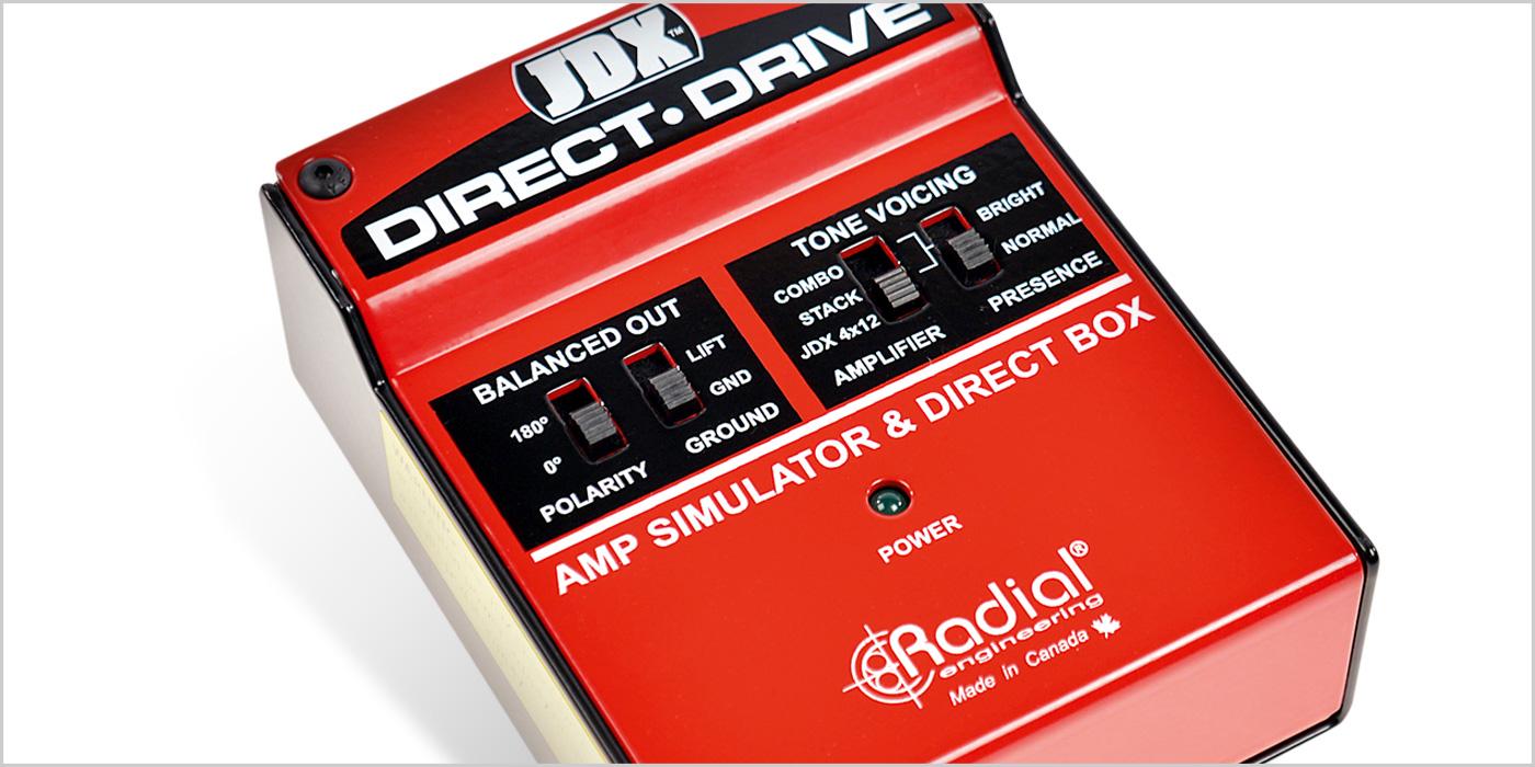 JDX Direct Drive de Radial Engineering