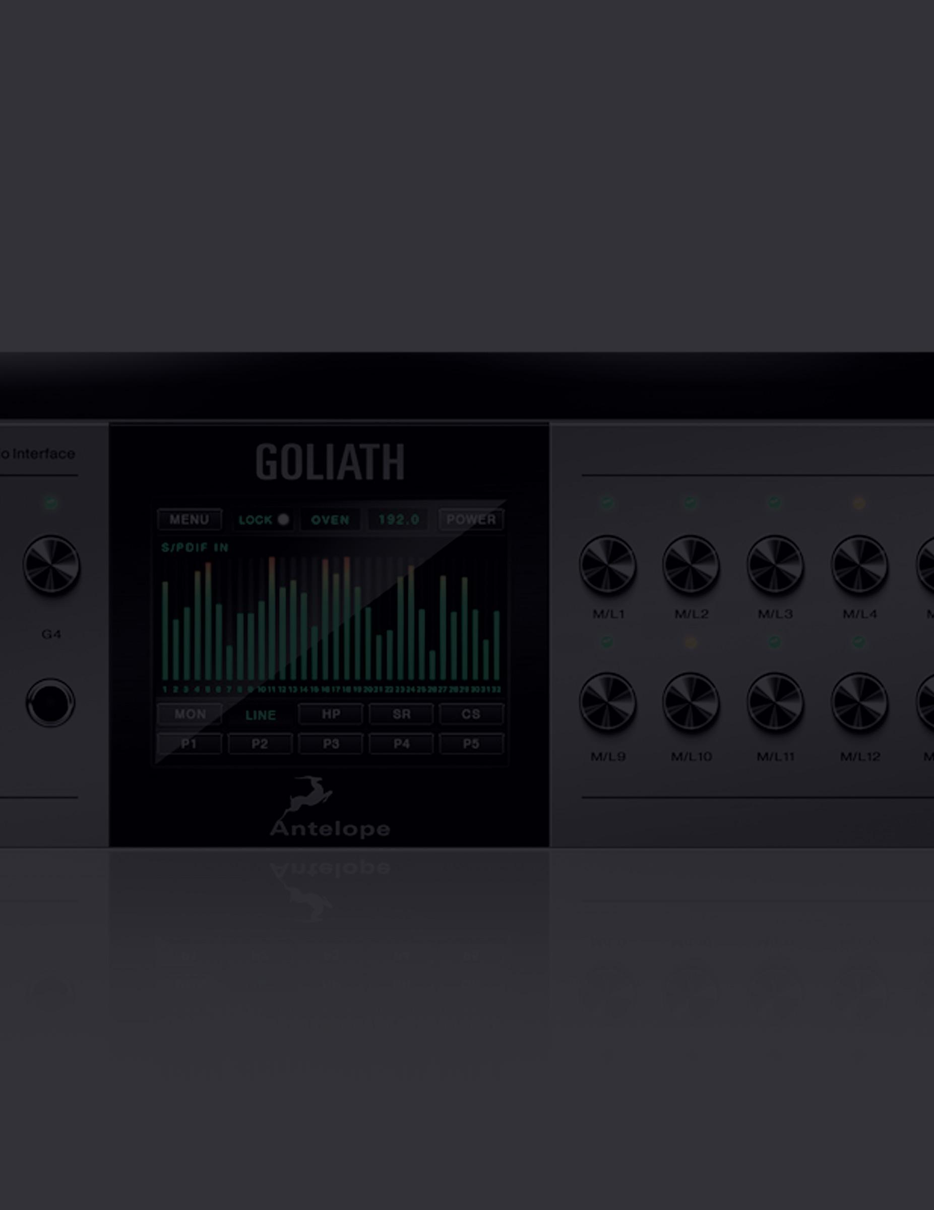 Interfaz Goliath de Antelope Audio
