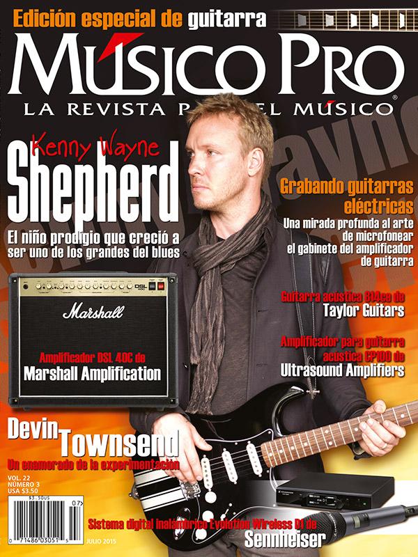 Julio 2015, Edición especial de guitarra