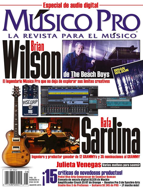 Agosto 2015 Cover