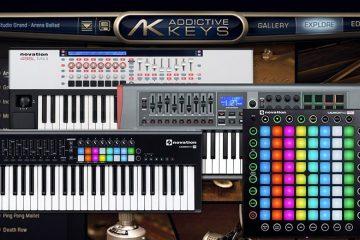 novation addictive keys