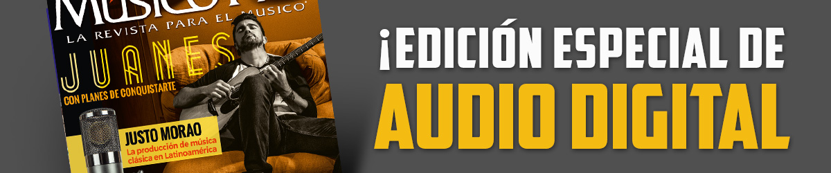 Edición especial de audio digital