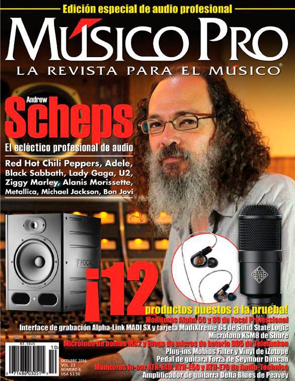 Octubre 2016, Edición especial de audio profesional