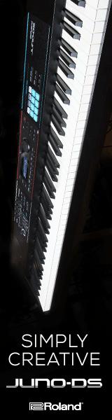 Roland Juno DS 160×600 – April
