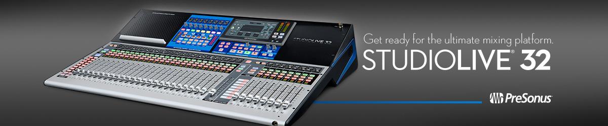 Sponsorship Banner – PreSonus – Studio Live
