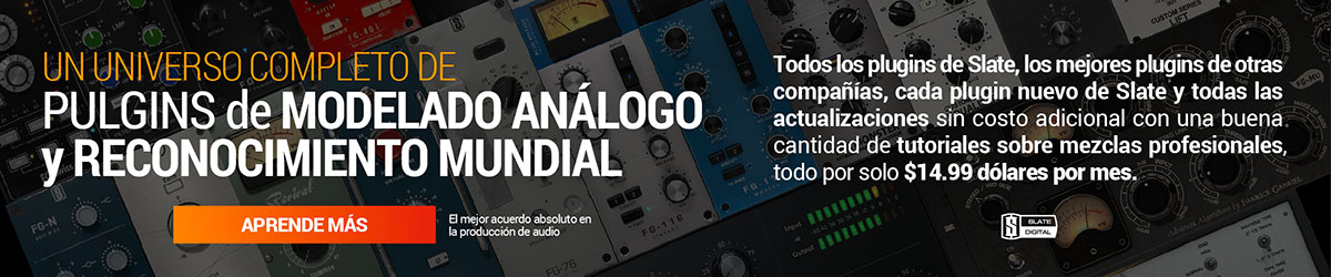 Sponosored Banner – Slate Digital – Analog Plugins