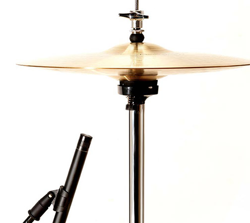 miking hi-hat cymbals
