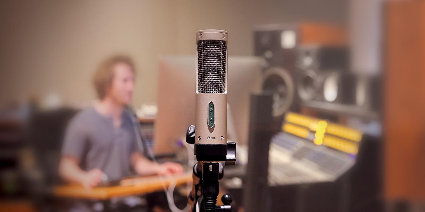 Micrófono R-10 de Royer, Un vistazo exclusivo