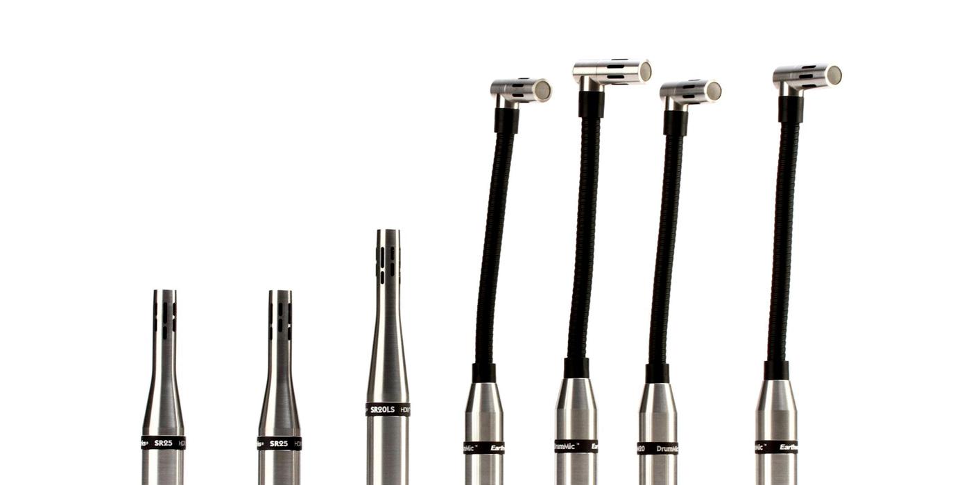 Sistema de microfoneo de batería DK7 de Earthworks