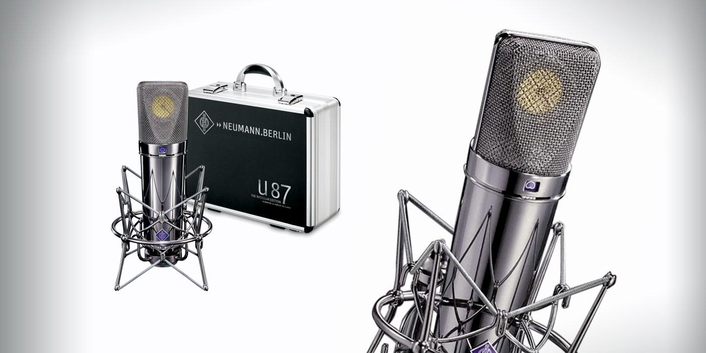 Micrófono U 87 Ai de Neumann