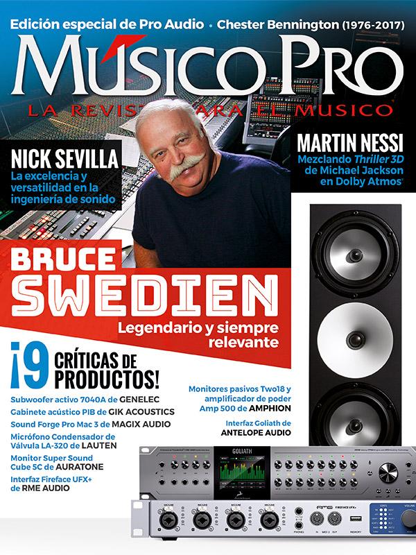 Octubre 2017, Edición especial de pro audio