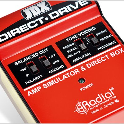 JDX Direct Drive de Radial Engineering