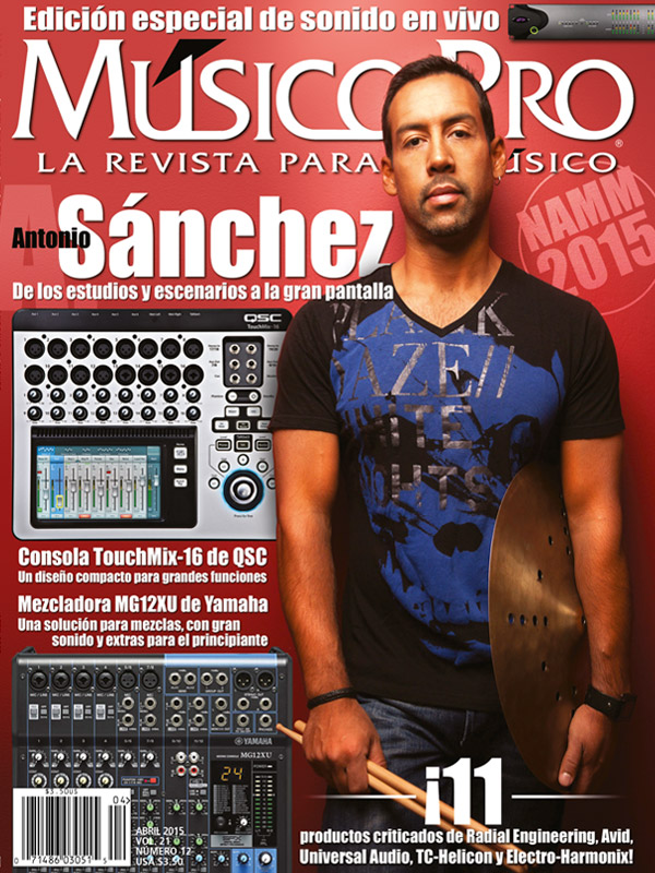 Abril 2015 Cover