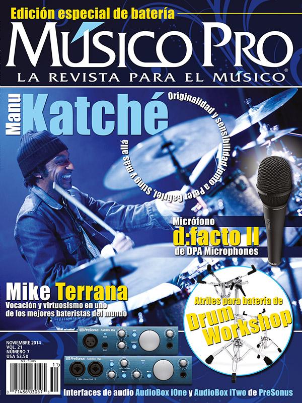 Noviembre 2014, Edición especial de batería