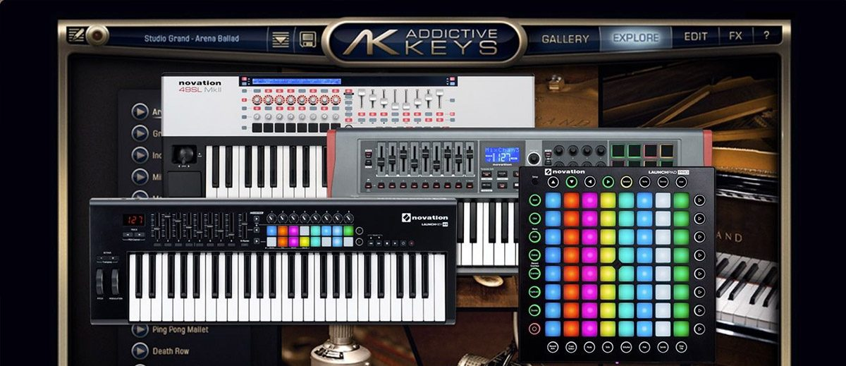 Novation Offers Free XLN Audio Addictive Keys Instrument