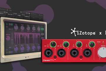 Focusrite Collaborates with iZotope On New Plug-in Offers