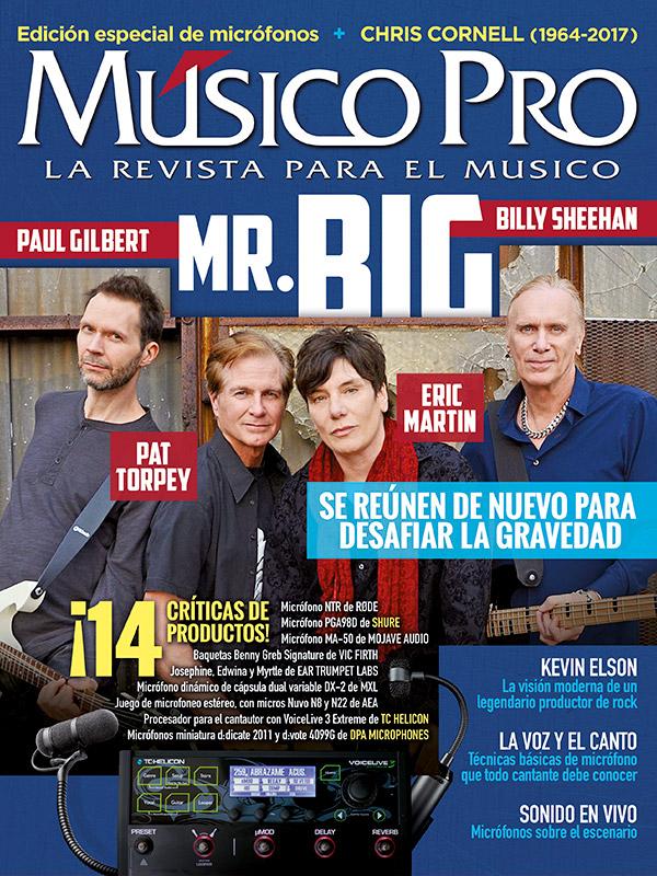 Agosto 2017, Edición especial de micrófonos