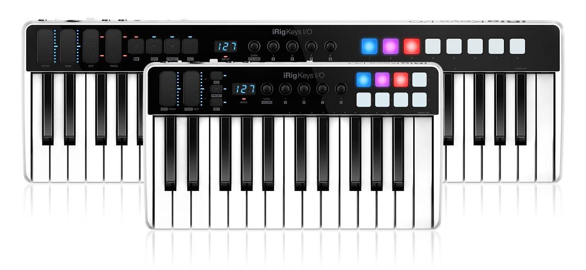 IK Multimedia releases iRig Keys I/O 25