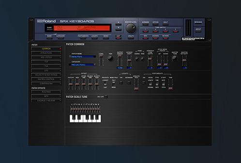 Roland anuncia sintetizador de software SRX Keyboards