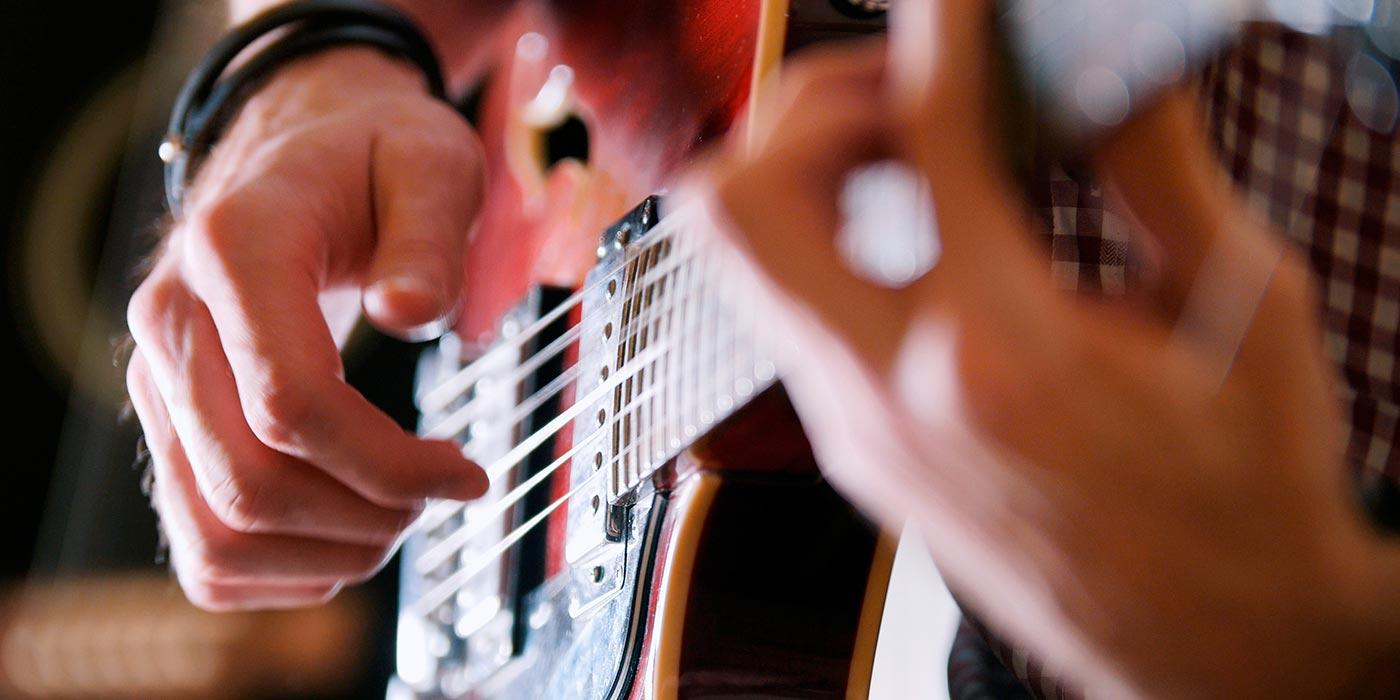 Grabando guitarras eléctricas