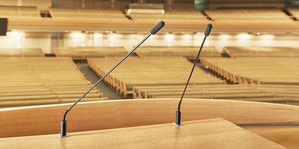 El micrófono del pastor