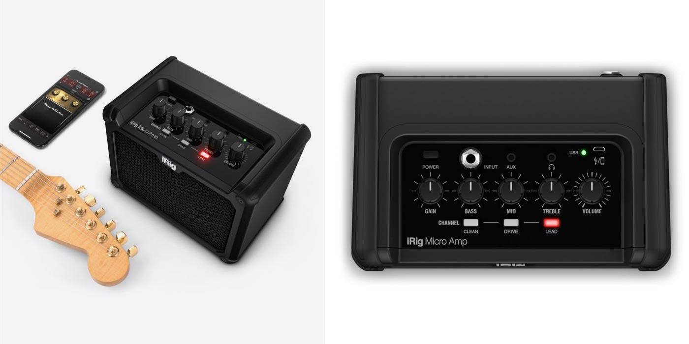 IK Multimedia presenta el amplificador iRig Micro Amp