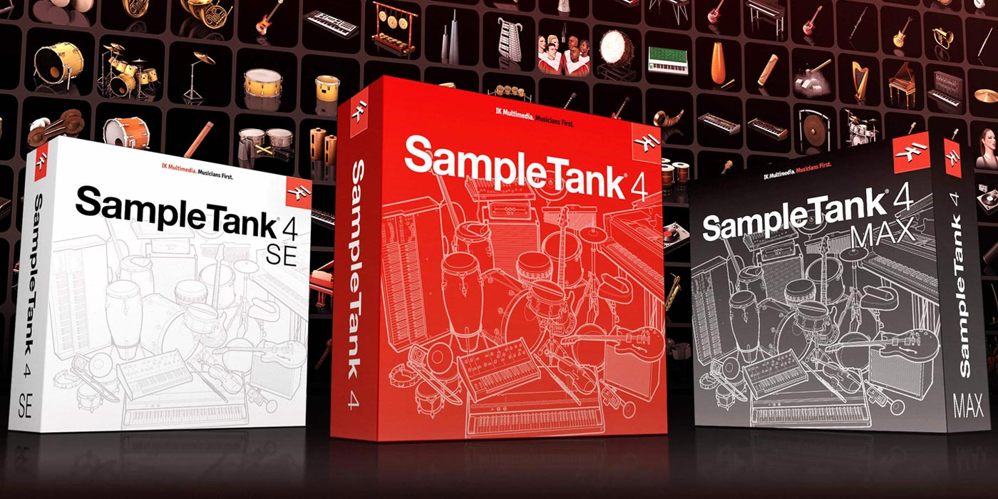 IK Multimedia lanza SampleTank 4