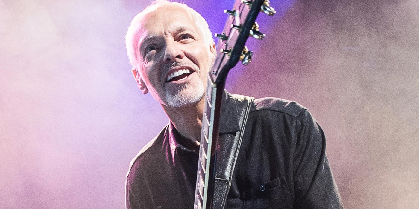 Peter Frampton gana premio Les Paul Innovation Award en 2019