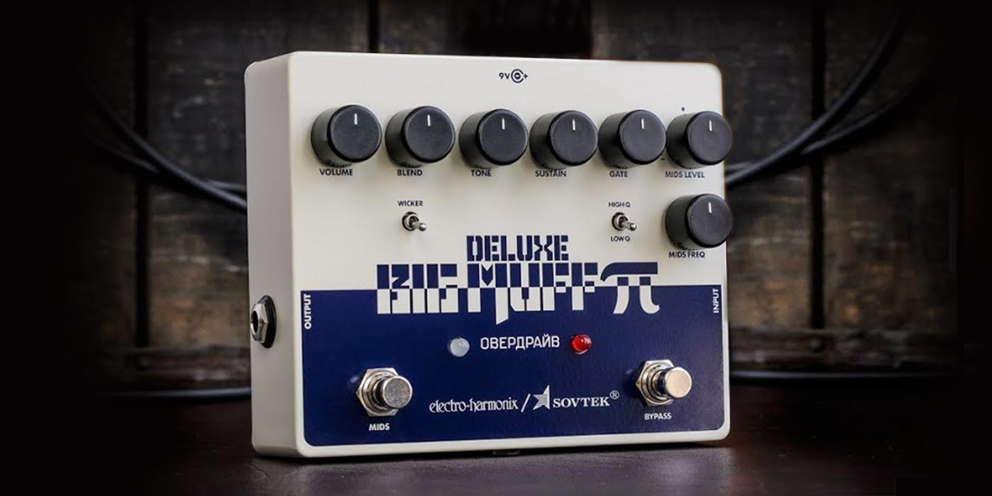 Un vistazo al pedal Sovtek Deluxe Big Muff Pi de Electro-Harmonix