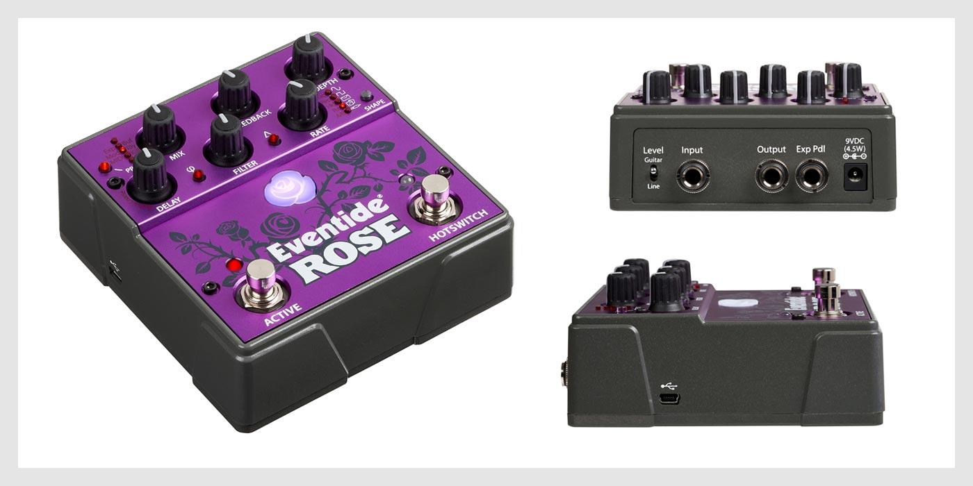 Eventide presenta su nuevo pedal Rose