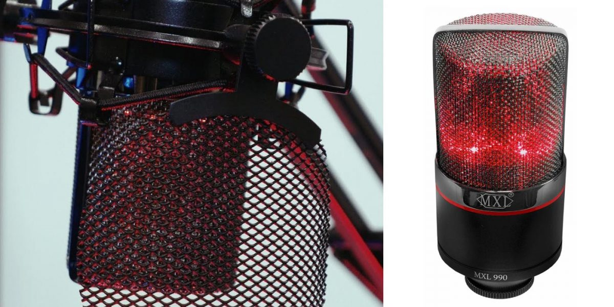 MXL lanza nuevo micrófono de condensador MXL Blaze 990