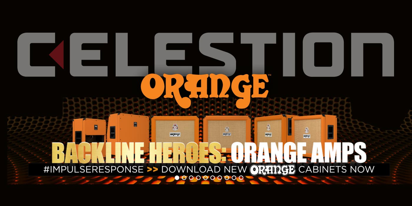 Celestion lanza los IR de Orange Amps