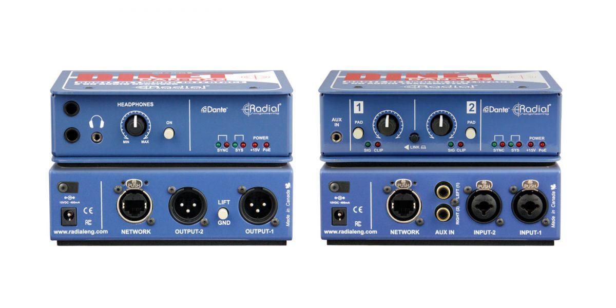 Radial DiNET DAN TX2 DAN RX2