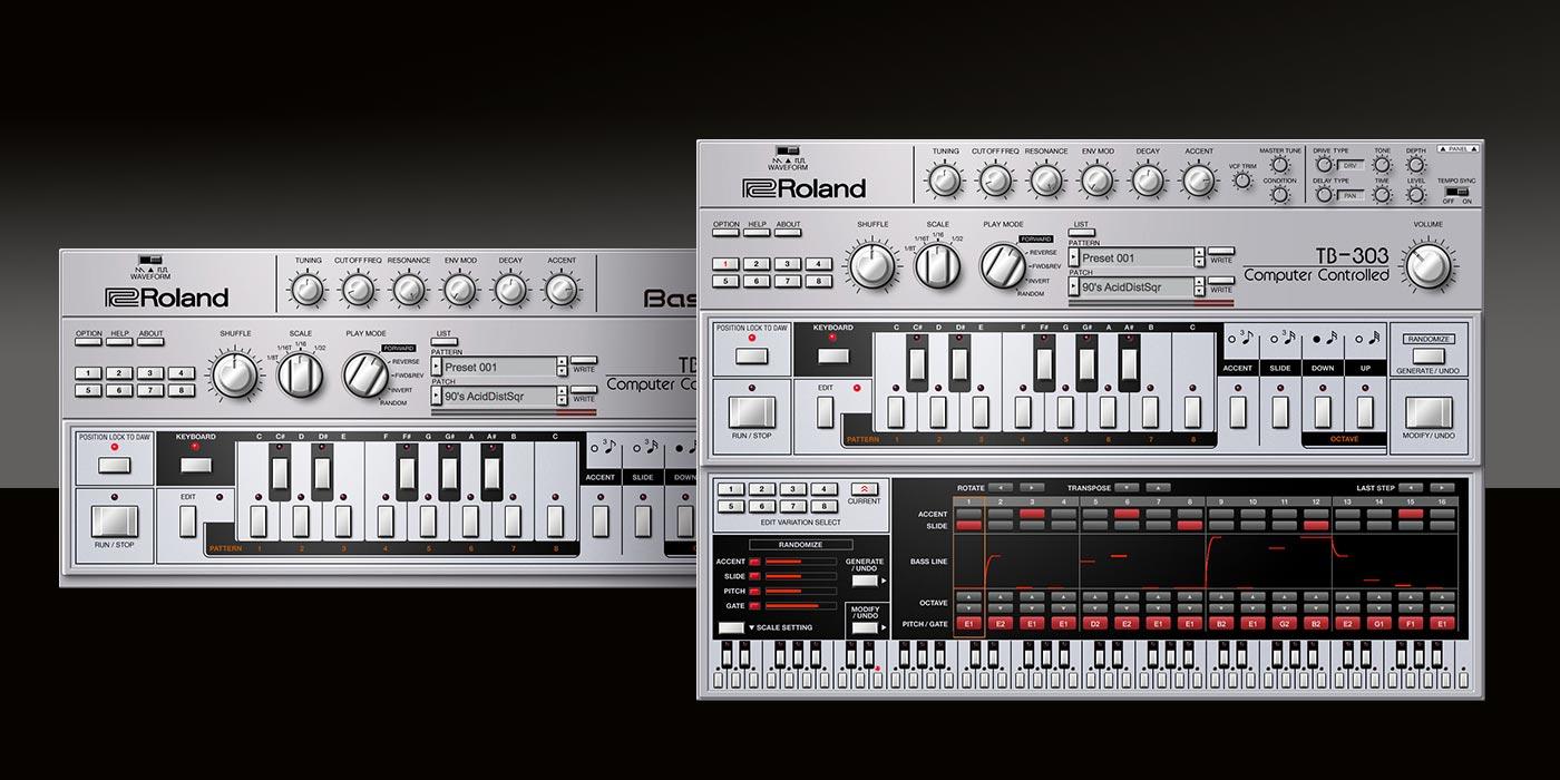 Roland Cloud agrega el sintetizador de bajos Roland TB-303