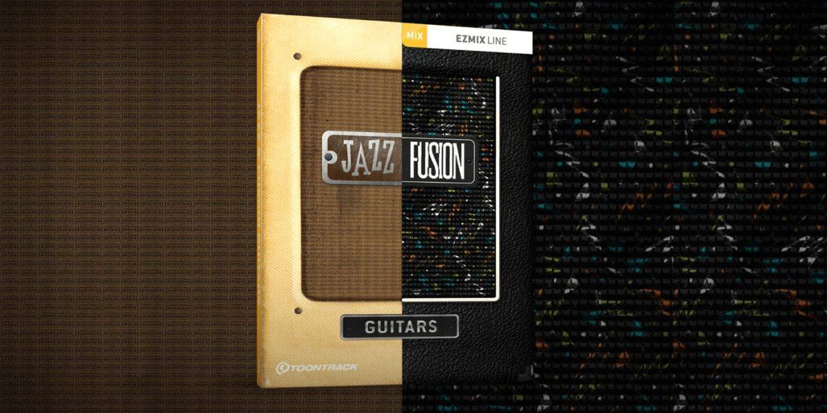 Toontrack anuncia el lanzamiento de Jazz and Fusion Guitars EZmix Pack