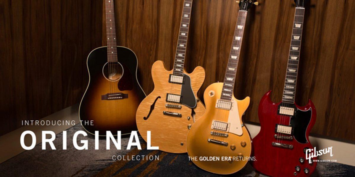 Gibson Presenta las NUEVAS colecciones: Original, Moderna y Custom Shop
