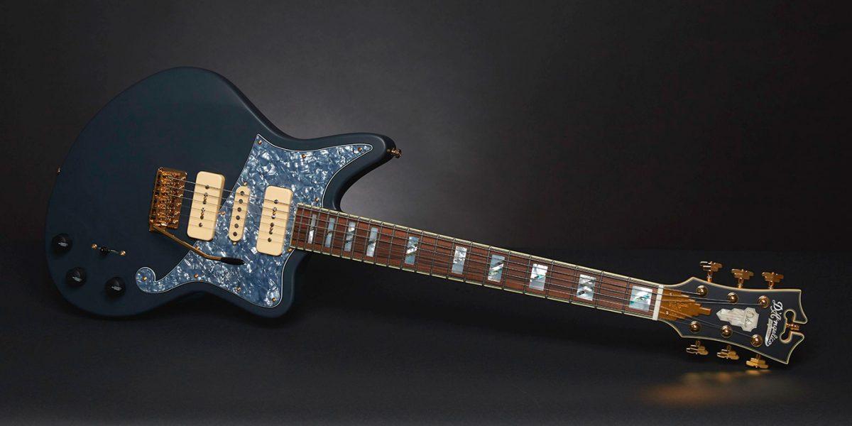 guitarra Deluxe Bob Weir Bedford de D'Angelico