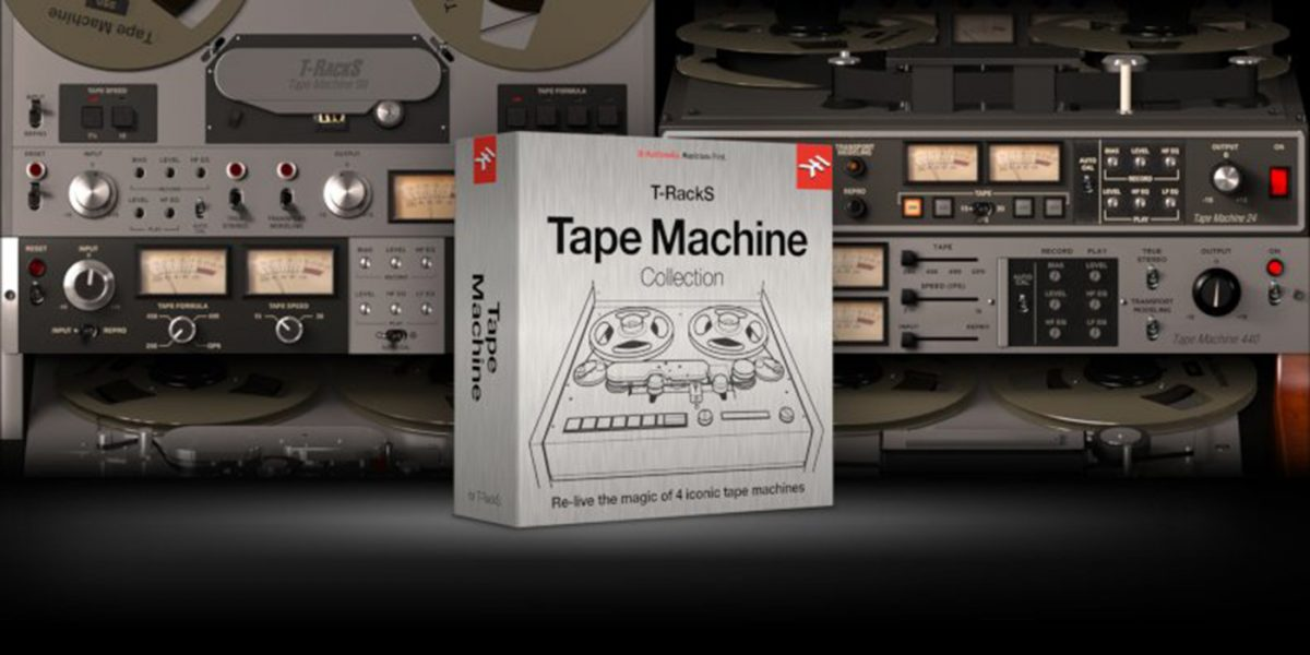 t-racks tape machine collection