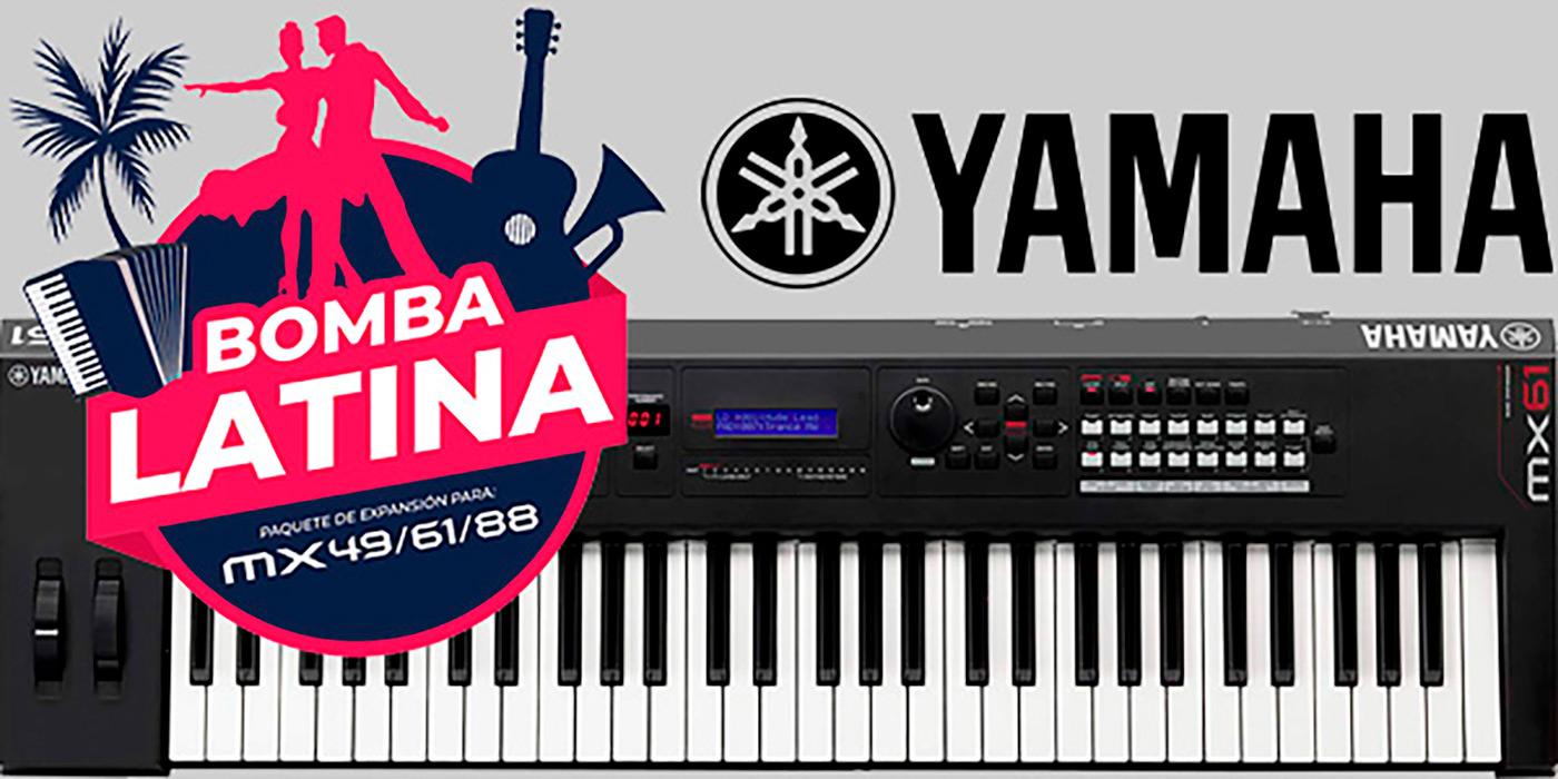 Paquete Bomba Latina de Yamaha es presentado