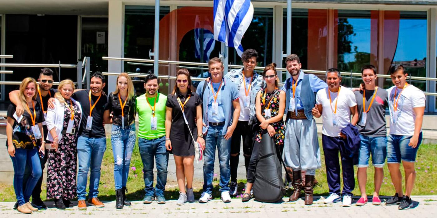 Festival Internacional de la Canción Punta del Este Entrevista con Heber Barrios