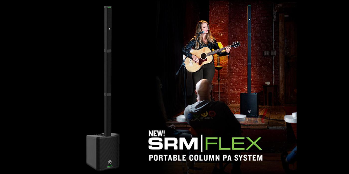 Mackie presenta el nuevo sitema de sonido SRM FLEX Mackie